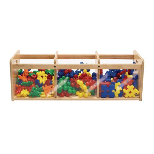 Toddler Easy View Birch Storage Bins - Set of 3