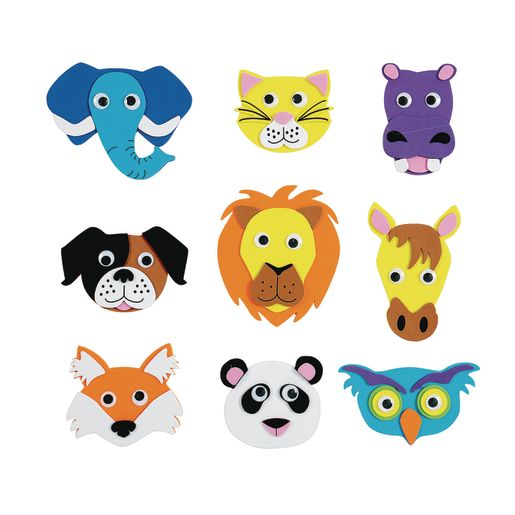 Image of Colorations Animal Friends Magnets - Kit for 36