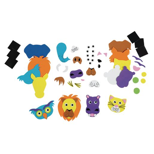 Colorations® Animal Friends Magnets - Kit for 36