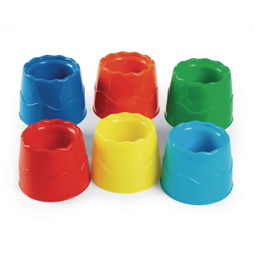 No-Tip Water Pots - Set of 6