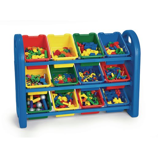 3-Tiered Manipulative Organizers with 12 Bins