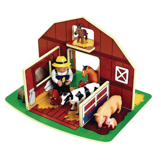 Image of Excellerations Toddler Wooden Barn