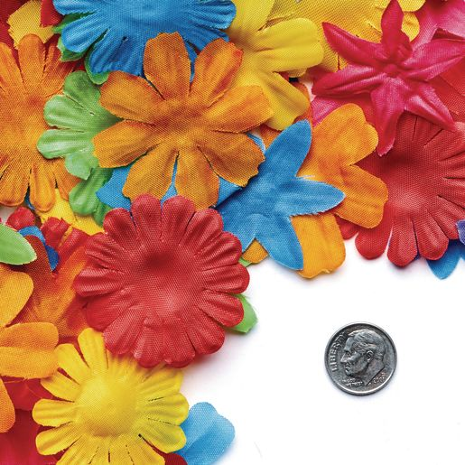 Colorations® Colorful Fabric Flowers 300 Pieces