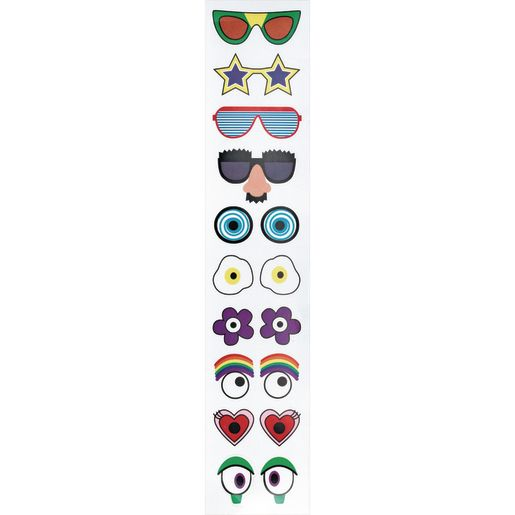 Colorations® Wild & Wacky Eye Stickers, 1,000 Pairs