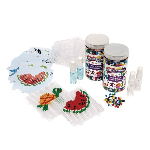 Image of Colorations Wet & Stick Fuse Beads Classroom Pack