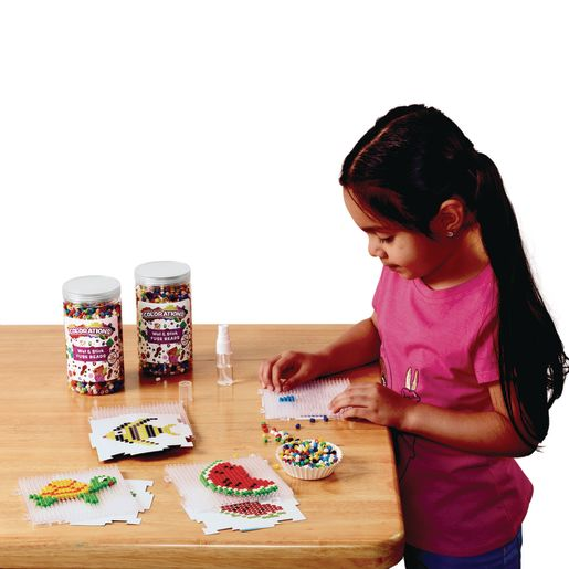 Colorations® Wet & Stick Fuse Beads Classroom Pack