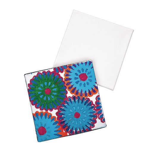 "Colorations® 8"" x 8"" Stretched Canvas Value Pack - Set of 24"