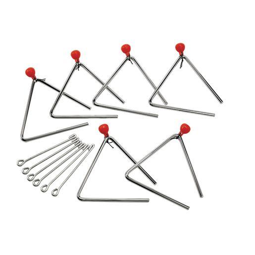Triangle - Set of 6