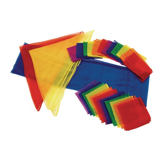 Image of Rainbow Movement Scarf Classroom Pack