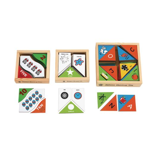 Alphabet Picture Matching Tiles