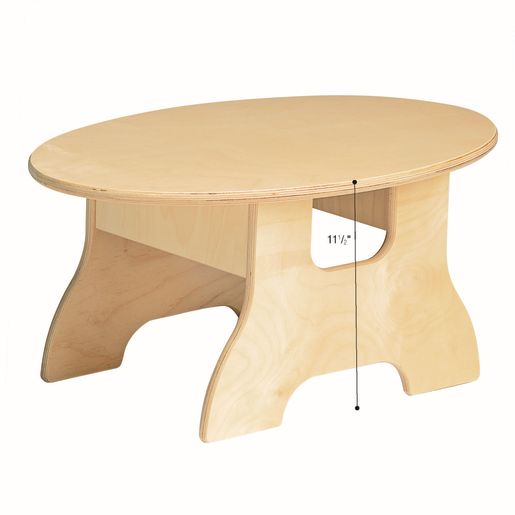 MyPerfectClassroom® Oval Sofa Table