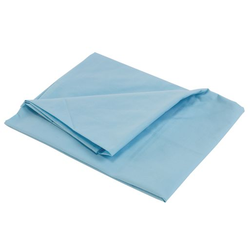 Fitted Standard Cot Sheets - Blue, Set of 6
