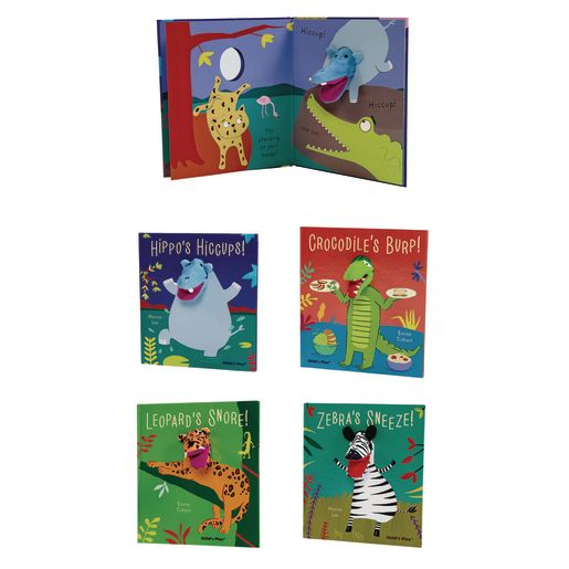 Noisy Animals Interactive Puppet Books - Set of 4