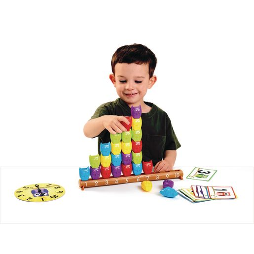 Image of 1-10 Counting Owls Activity Set - 37 Pieces