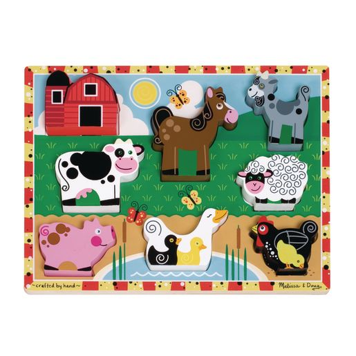 Image of Farm Animals Chunky Puzzle