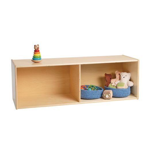 Environments® Single Side Divided Storage - Assembled
