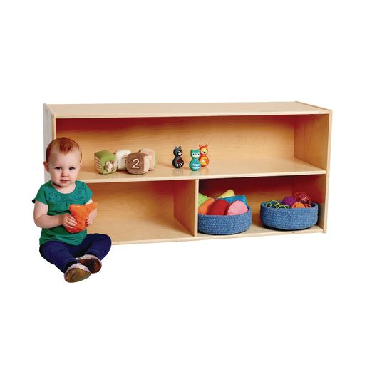 Image of Environments Toddler Divided Storage - Assembled