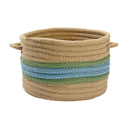 "13""Dia. Braided Handle Baskets"
