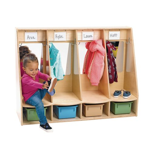Image of Environments I Can Do It Myself Toddler Locker - Assembled