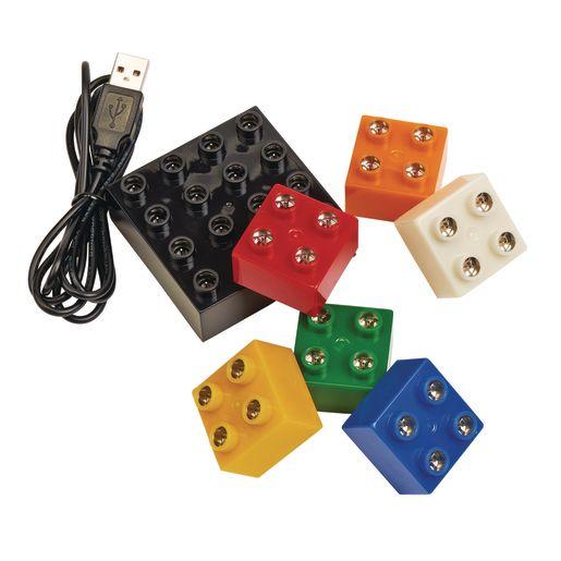 Exploring Circuitry Light Blocks