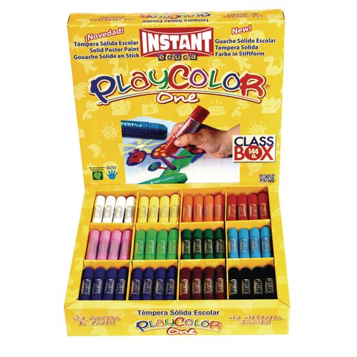 Image of PlayColor Tempera Sticks Classroom Box - Set of 144