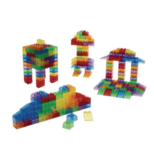 Image of Excellerations Translucent Building Bricks - 206 Pieces