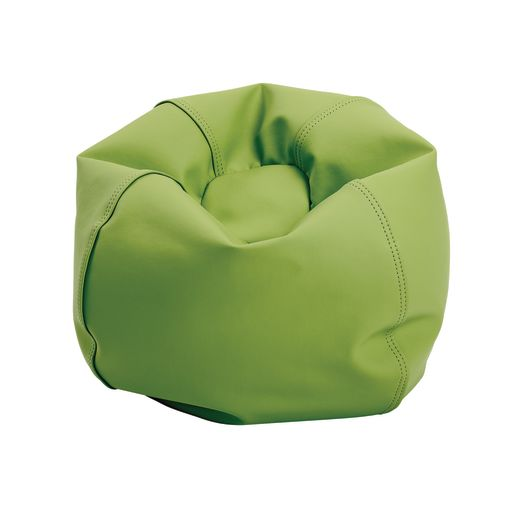 "Environments® 20"" Apple Green Mini Beanbag Seat"
