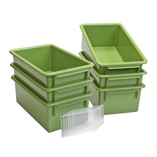 Easy-Label Bin Sage Green