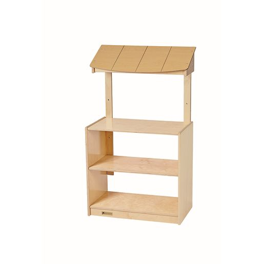 MyPerfectClassroom® VersaSpace™ Adjustable Awning 2-Shelf Cabinet