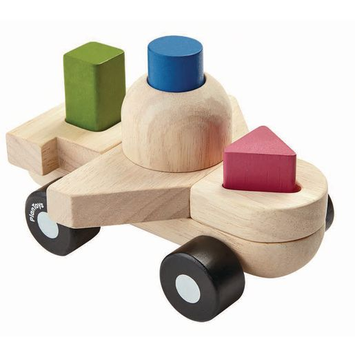 Infant Wood Sorting Puzzle Plane