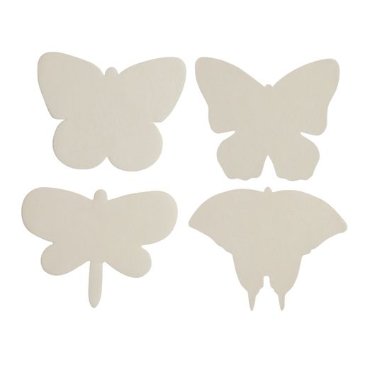 Liquid Watercolor™ Diffusing Paper Butterfly Shapes - Set of 48