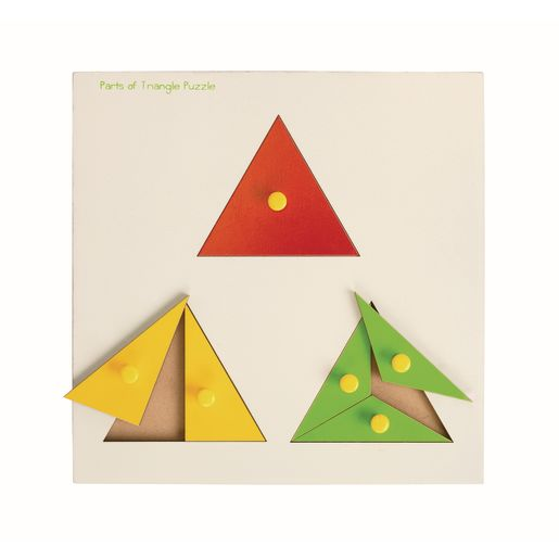 Parts of a Triangle Math Puzzle
