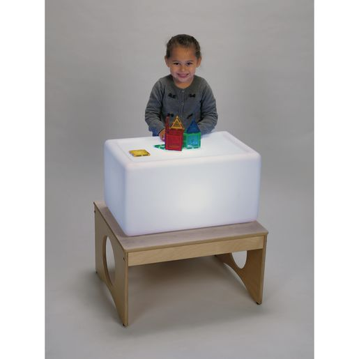Excellerations® Color-Changing Sensory LED Light Box