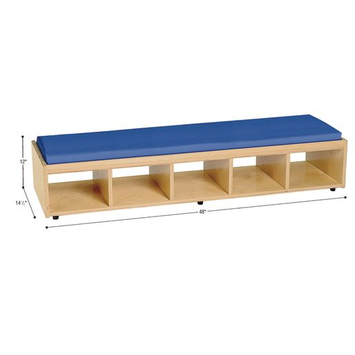 MyPerfectClassroom® VersaSpace™ Double Sided Bench Seating with Storage