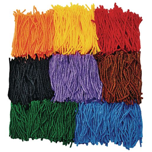 Image of Colorful Collage Yarn 2500 Pieces