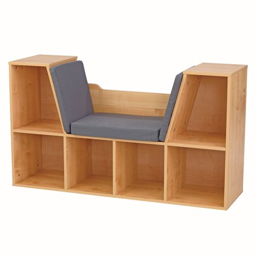Image of Bookshelf with Reading Nook