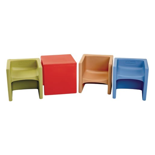 Cube Chairs - Set of 4 DSS Colors