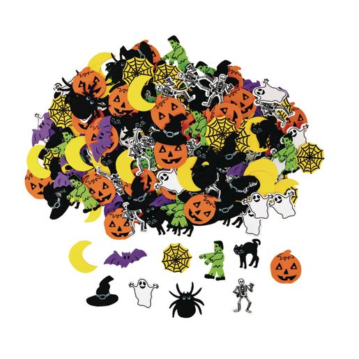 Colorations® Halloween Foam Shapes 300 Pieces