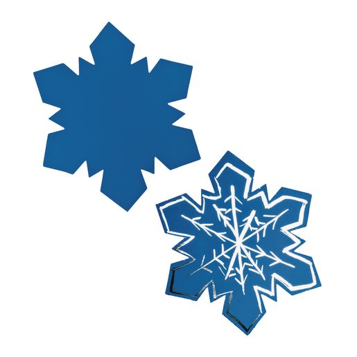 Image of Colorations Scratch Designs Snowflakes Set of 36