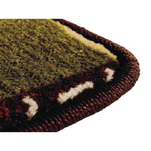 Alphabet Around Literacy 8' x 12' Rectangle KIDSoft Premium Carpet