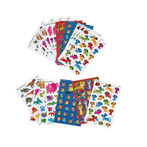Image of Animal Sticker Variety Pack 20 Sheets