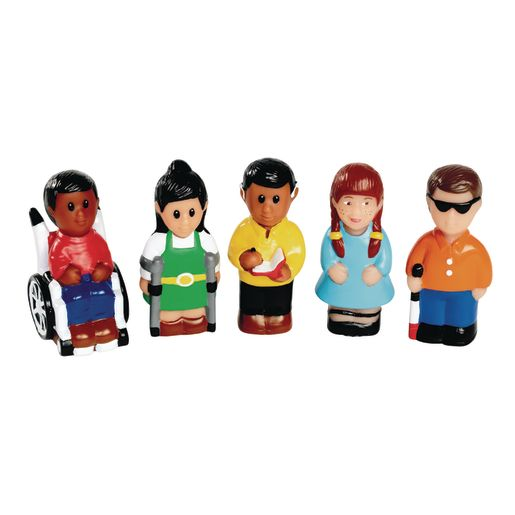 "Different Abilities 3""H Friends Set of 5"