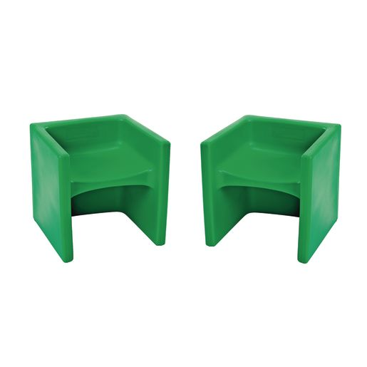 Cube Chair 2 Pack - Green