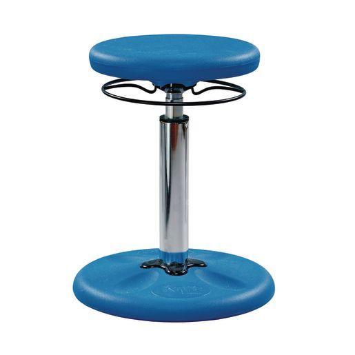 Adjustable Height Kore™ Wobble Stool Blue