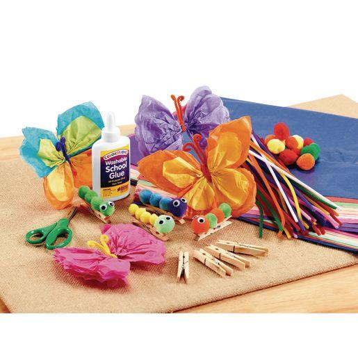 Self-Adhesive Pom-Poms 240 Pieces