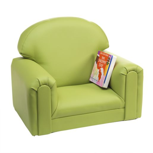 Image of Environments PVC-Free Mini Club Chair - Apple Green