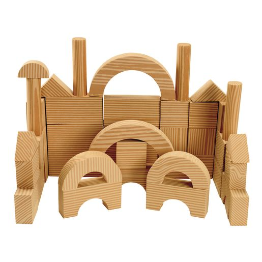 Image of Environments earlySTEM Toddler Soft & Smooth Unit Blocks Set of 40