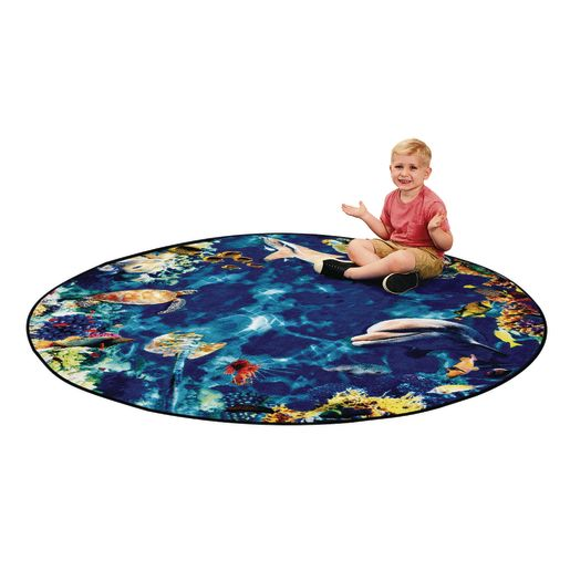 Into the Sea Carpet & Sit-Upons