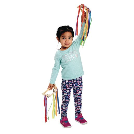 Image of Excellerations Toddler Ribbon Tambourine Set of 4