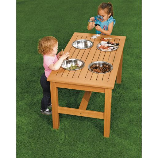 Excellerations® Outdoor Sensory Mixing Table